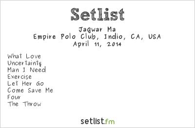 Jagwar Ma Setlist Coachella Festival 2014 2014