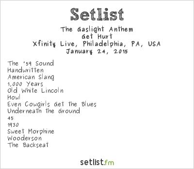 The Gaslight Anthem Setlist Radio 104.5 Winter Jam 2015 2015