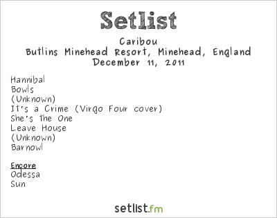 Caribou Setlist ATP Nightmare Before Christmas 2011 2011