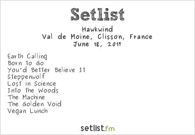 Hawkwind Setlist Hellfest 2017 2017
