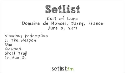 Cult of Luna Setlist Plein air de Rock 2017 2017
