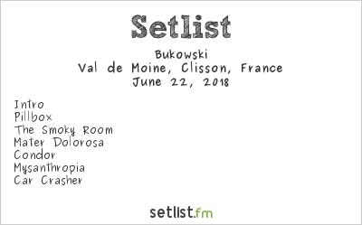 Bukowski Setlist Hellfest 2018 2018