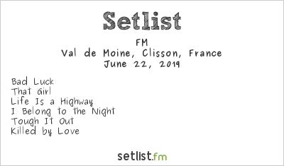 FM Setlist Hellfest 2019 2019