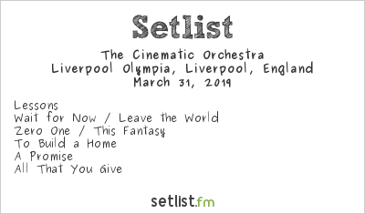 The Cinematic Orchestra Setlist BBC Radio 6 Music Festival 2019 2019