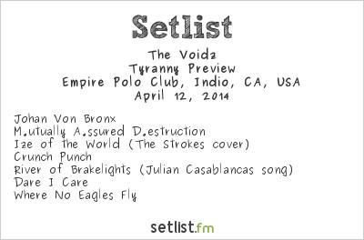 Julian Casablancas Setlist Coachella Festival 2014 2014