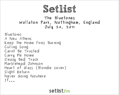 The Bluetones Setlist Splendour Festival @ Wollaton Park, United Kingdom, null 2011