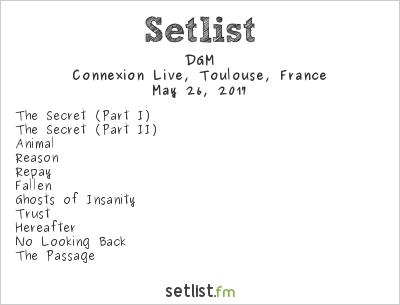 DGM Setlist Le Connexion Café, Toulouse, France 2017