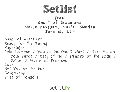 Treat Setlist Sweden Rock Festival 2017 2017, Ghost of Graceland