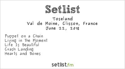 Toseland Setlist Hellfest 2018 2018