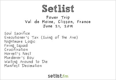 Power Trip Setlist Hellfest 2019 2019