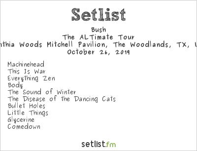 Bush Setlist KTBZ BuzzFest XXXVIII 2019, The ALTimate Tour